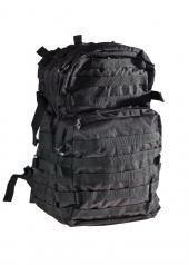 Robuster und Praktischer Rucksack US Assault I groß 45 Liter in verschiedenen Farben Schwarz