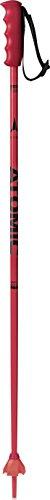 Atomic, 1 Paire de Bâtons de Ski pour Enfants, 95 cm, Aluminium, Redster JR, Rouge/Noir, AJ5005354095