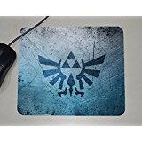 Zelda Logo-Ocarina of Time-Link-Novelty Gift-custom nome Mouse Pad