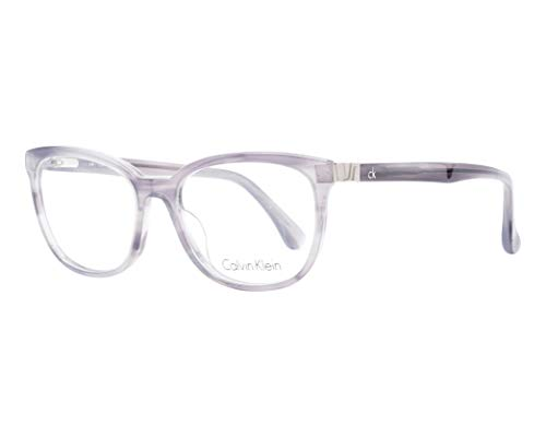 Calvin Klein Brille (CK-5879 043) Acetate Kunststoff marmor stil grau - kristall grau