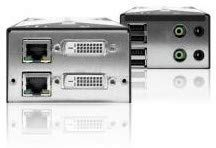 Adder Single link DVI Extender DVI, Transparent USB, Audio -, X-DVIPRO-MS2 (DVI, Transparent USB, Audio - Over Single CATx Cable) - Extender-usb-link