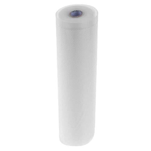 perfk Lebensmittel Vakuumfolie Premium-Qualität Vakuumbeutel Nahrungsmittel Vakuumversiegelung Rolle 22 × 500 cm