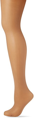 Fiore Damen Shapingstrumpfhose TOTAL-SLIM 40 den/BODYCARE Strumpfhose, Braun (Tan 014), Large (Herstellergröße:4) -
