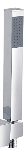 Micro à Main Crayon salle de bain Carré tête de douche