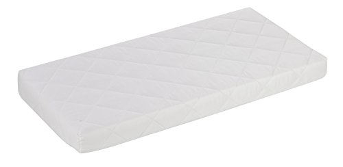 Alvi Kinderbettmatratze Exclusiv/Kindermatratze Schadstoff geprüft/für alle gängigen Baby Junior Ikea Betten/Babymatratze mit Kleinkindseite/Babybett-Matratze Höhe 10 cm, Größe:60 x 120