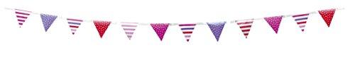 Colorate bandierine per feste di compleanno bimba