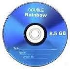 8.5 GB DVD RAINBOW 20 PIECES