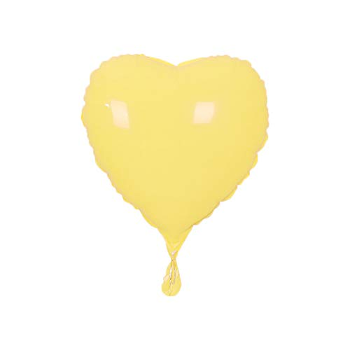 Poseca Party liefert Geburtstag Ballon Hochzeit Dekoration Macarons niedlichen Aluminium Film Ballon fünfzackigen Stern/Herzform, leuchtend rot/gelb/grün/blau/lila