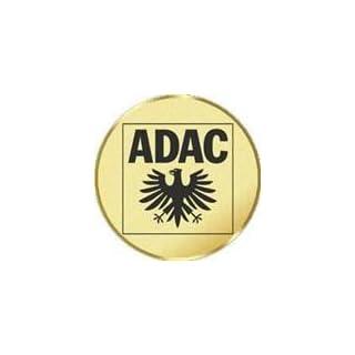 Pokal / Medaille Emblem, Motiv ADAC, Durchmesser 50 mm, gold