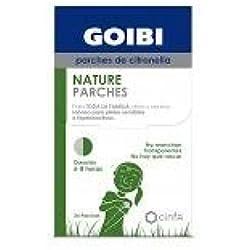 Goibi Nature Parches de Citronella Antimosquitos, 24 parches