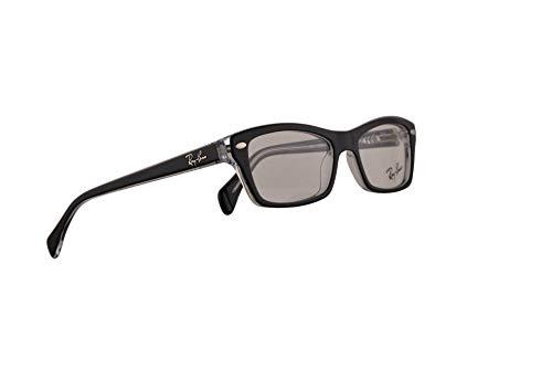 Ray-Ban RX1550 Brillen 46-15-125 Schwarz Mit Demonstrationsgläsern 3529 RX 1550 RB1550