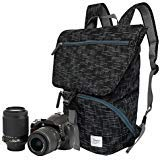 StylishCamera Backpack to Carry a DSLR Camera, 1 Standard Zoom Lens
