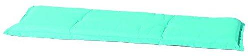 Madison 7BAN6-B248 Gartenbank, 2-Sitzer Panama duo, 120 x 48 cm, Baumwolle / Polyester, mint / grau