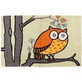 Jellybean Home Comfort Awesome Owl Accent Zone Tapis