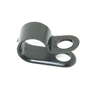 Kunststoff Kabel Schellen Befestigungsschellen Chassisklemmen Rahmenschellen (Stück 25, 10mm)
