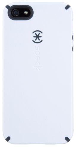 p-On Case Cover Schutzhülle für iPhone 5/5S - Weiß/Anthrazit ()