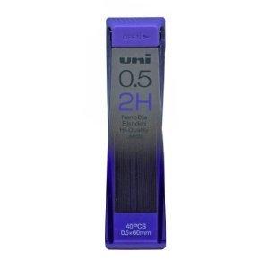 uni-nano-dia-confezione-da-40-mine-per-matita-05-mm-grado-2h