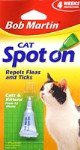 Bob Martin Flea and Tick Spot On Cats, 12 Weeks