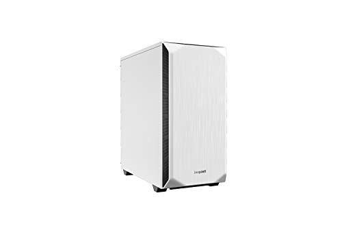 be quiet! Pure Base 500 Mid Tower Gaming-Gehäuse, USB 3.0, Weiß