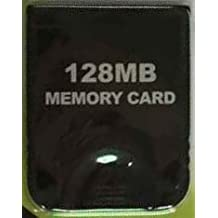 128 Mb (2043 Blocks) Black Memory Card For Nintendo Game Cube Or Wii Ne Xi Lux