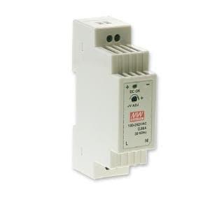 MEANWELL DR-15-24 Schaltnetzteil 15,2W 24V 630mA DIN Rail Power Supply
