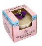 Rose And Co Patisserie De Bain Fairy Cake Moisturising Bath Melt VIOLET 45g