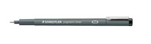 Staedtler Pigment liner Fineliner 0.8mm, 10 pezzi