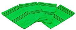 Lot de 4 serviettes exfoliantes coréennes de qualité supérieure, taille L, fabriquées en Corée