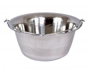 Gulaschkessel Gulasch Topf 20 Liter Edelstahl dickwandig 1 mm Materialstärke