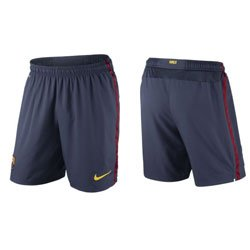 Nike FC Barcelona Home Replica 478317Boys 'Shorts blue Midnight navy/stormred/tour Size:XS