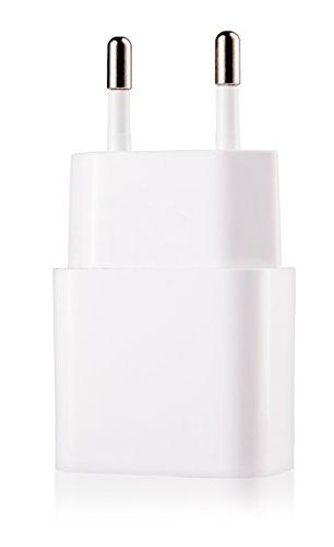 MyGadget Universal Netzteil - USB Adapter (5V / 1A) - Ladestecker Ladeadapter Ladegerät für Apple iPhone 5, 6 / 6s, 7, 8, iPod Touch, Nano in Weiß
