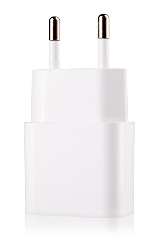 MyGadget Cargador Plug Universal - USB Adaptador [5V / 1A] - Enchufe...