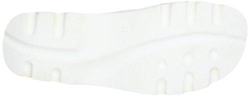 Woody London Herren Clogs Weiß (Sport Nappa Weiß)