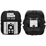 Pixel TF-334 Hot-Shoe-Adapter zum Konvertieren von Sony DSLR-Kameras MI zu Canon Nikon Hot Hacke mit 3,5 mm PC-Anschluss(Unterstützt den TTL-Modus nicht)