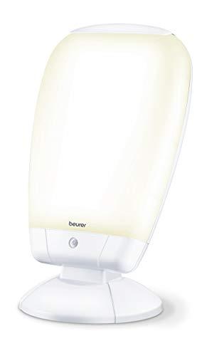 Beurer TL 80 Lampe de Luminothérapie - 10.000 Lux - Combattez le Blues Hivernal - Simulation de la Lumière du Jour - Angle d'Inclinaison Réglable en Continu - CE Médical