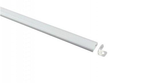 Perfil Aluminio con forma de