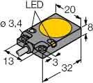 Turck Sensor Bi5-Q08-AP6X2/S34 induktiv Induktiver Näherungsschalter 4047101146233