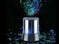 Lunartec Mobiler Mini-Sterne-Projektor mit 3 Leuchtprogrammen von Lunartec - Lampenhans.de
