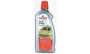 NIGRIN Performance-Turbo Auto Wash & Wax Shampoo-1 l