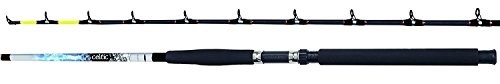 FLADEN 7ft CELTIC STAND UP STICK 2 Piece BOAT SEA Fishing Rod (30 to 40lbs Class) for Offshore Fishing (7ft .- 2.10m) [12-9270]