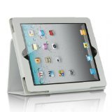 THE NEW IPAD? / 3 / 2 STAND BINDER W/ SLEEP MODE FUNCTION WHITE-IPOD:LPID2STDSLPWT (Stand Binder)