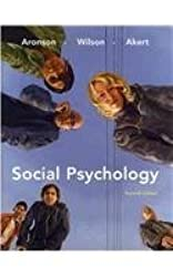 Social Psychology (with MyPsychLab with E-Book Student Access Code Card) (7th Edition) by Aronson, Elliot, Wilson, Timothy D., Akert, Robin M. (2009) Gebundene Ausgabe