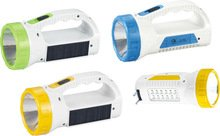 H-Store Junai 1960 1W, 12 Smd Dual Function Solar Panel Powererd Dc & Ac Rechargeable Led Emergency Table Light Torch Flash  available at amazon for Rs.332