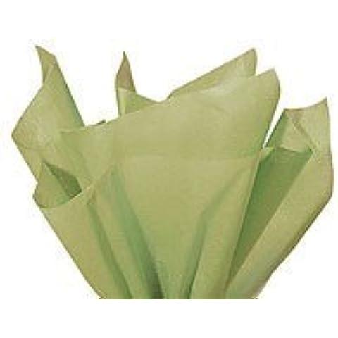 Brand New Sage Green Light Olive Bulk Tissue Paper 15
