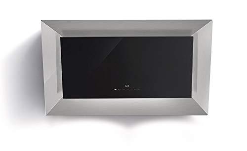 Best 07 F65000 a Frame HF XS Hotte murale/Inox + Verre/Noir/90 cm