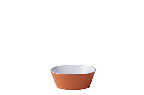 MEPAL Coque Conix 500 ML, Plastique, rétro, Orange, 15 x 15 x 5,5 cm, 6 unités de