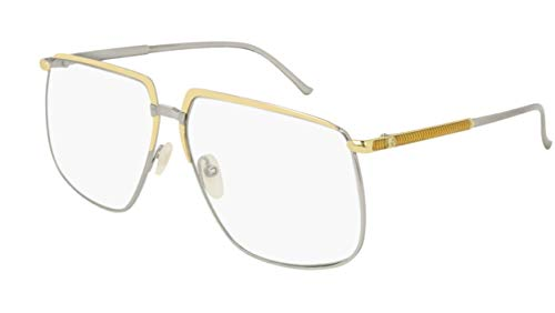 Gucci Sonnenbrillen GG0365S Gold Silver/UVA UVB TRANSPARENT Damenbrillen