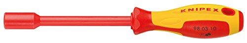 KNIPEX 98 03 07 Steckschlüssel mit Schraubendreher-Griff 237 mm