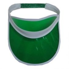 Unisex Sonnenblende Poker Hat Haarband Golf Neon Pub Hirsch 1980er Dance Tennis Cap grün