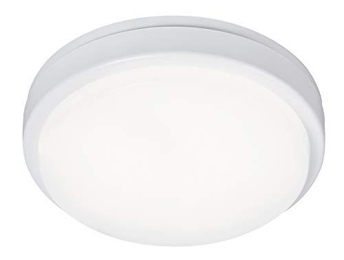 Loki Plafones para Exteriores leuchtenladen Convencional plástico Blanco LED-Board Lámpara de Techo 15 Vatio